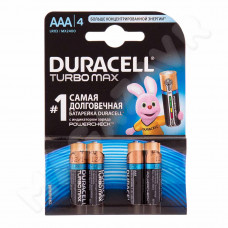 Батарейка Duracell Turbo ААА 4 шт