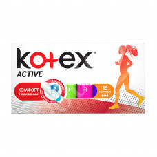 Тампоны Kotex Active Normal 16