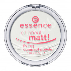Пудра для лица Essence all about matt прозрачная