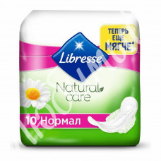 Прокладки Libresse Natural Care Ultra Normal 10шт