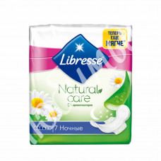 Промо Libresse Natural Care Maxi Goodnight 7шт