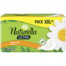 Прокладки Naturella Ultra Normal 40шт квадро